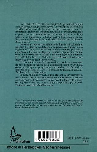 4eme Histoire de la Tunisie contemporaine