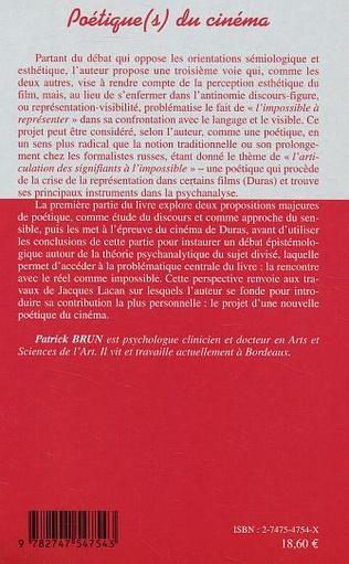 4eme Poétique(s) du cinéma