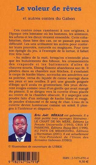 4eme Le voleur de rêves et autres contes du Gabon