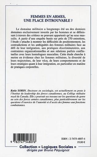 4eme FEMMES EN ARMES, UNE PLACE INTROUVABLE