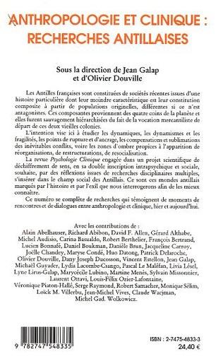 4eme La psychologie en Guyane Française