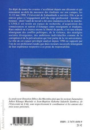 4eme Université de Lubumbashi