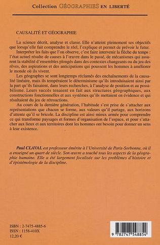 4eme Causalité et géographie