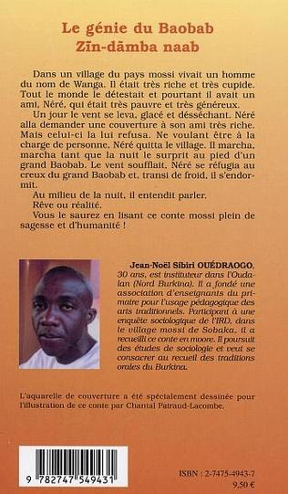 4eme Le génie du baobab - ZIN-DAMBA NAAB