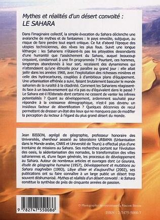 4eme Mythes et réalités d'un désert convoité le Sahara