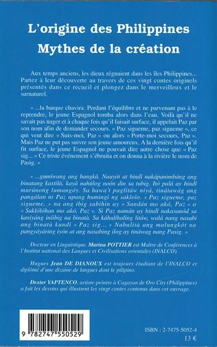 4eme L'origine des philippines