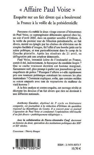 4eme Affaire Paul Voise