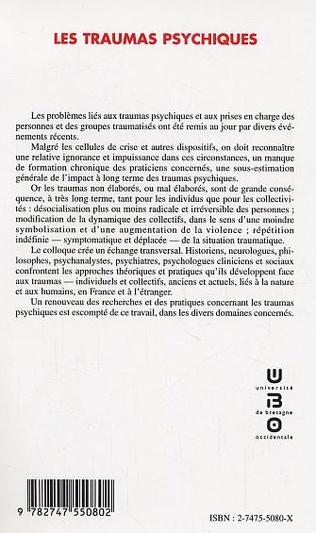 4eme Les traumas psychiques