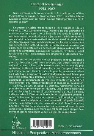 4eme Le peuple algérien et la guerre