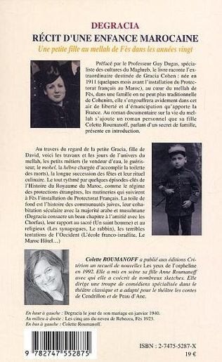 4eme Degracia Récit d'une enfance marocaine