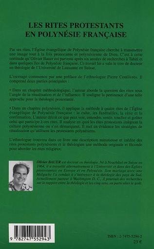 4eme Les Rites protestants en Polynésie française