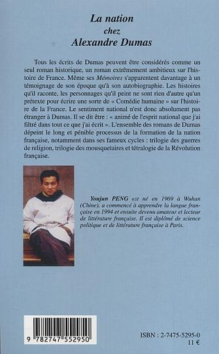 4eme La nation chez  Alexandre Dumas