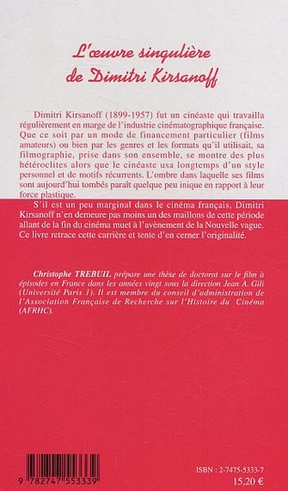 4eme L'oeuvre singulière de Dimitri Kirsanoff