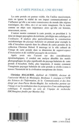 4eme La Carte postale, une oeuvre