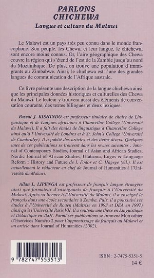 4eme Parlons Chichewa