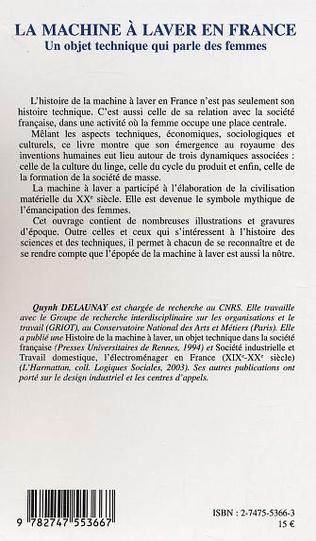 4eme La machine à laver en France