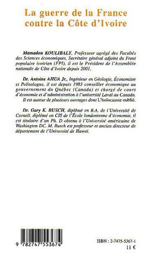 4eme La guerre de la France contre la Côte d'Ivoire