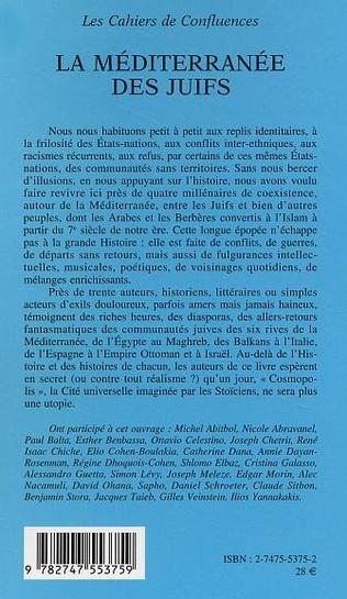 4eme La Méditerranée des Juifs