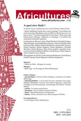 4eme A quoi rêve Haïti ?