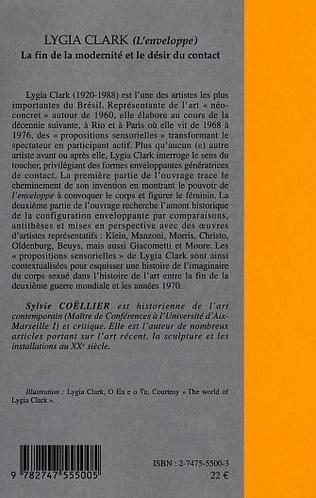 4eme LYGIA CLARK (L'enveloppe)