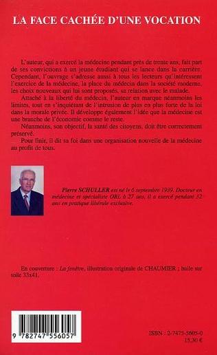 4eme LA FACE CACHEE D'UNE VOCATION