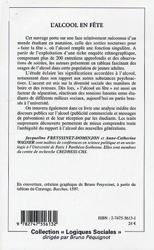 4eme L'ALCOOL EN FÊTE