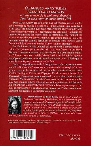 4eme ECHANGES ARTISTIQUES FRANCO-ALLEMANDS
