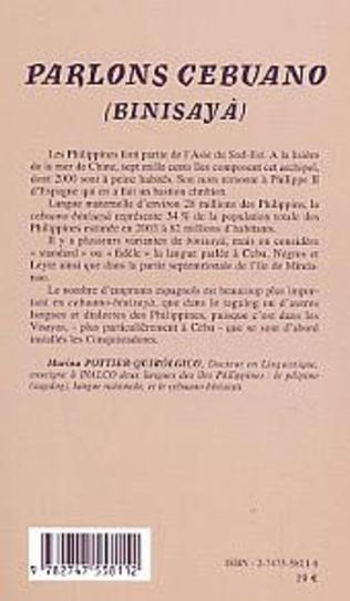 4eme Parlons Cebuano (Philippines)