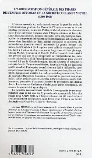4eme L'administration générale des phares de l'Empire Ottoman et la société Collas et Michel