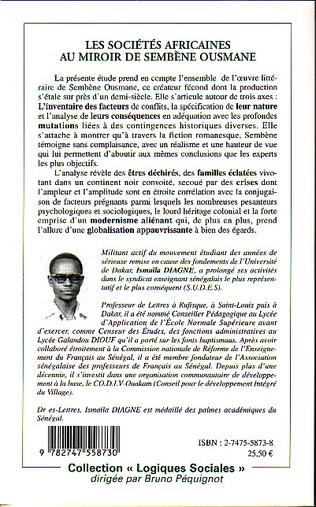 4eme Les sociétés africaines au miroir de Sembène Ousmane