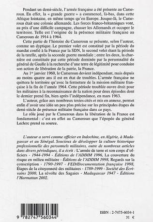 4eme Le sillage militaire de la France au Cameroun