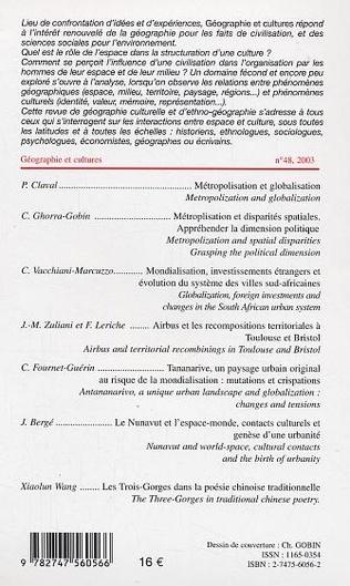 4eme Mondialisation/Métropolisation