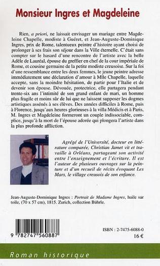 4eme Monsieur Ingres et Magdeleine