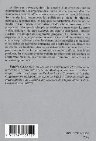 4eme Communication organisationelle