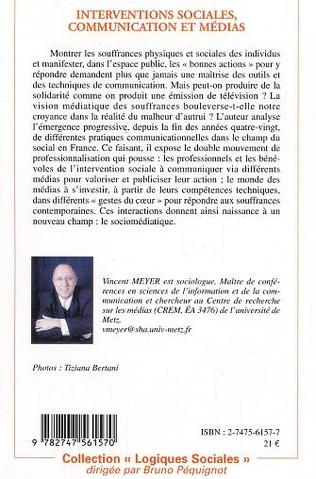 4eme Interventions sociales, communication et médias
