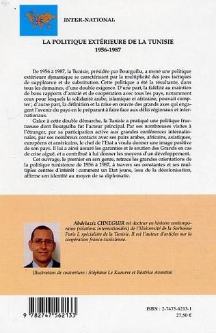 4eme La politique extérieure de la Tunisie