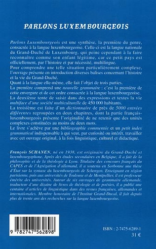 4eme Parlons luxembourgeois