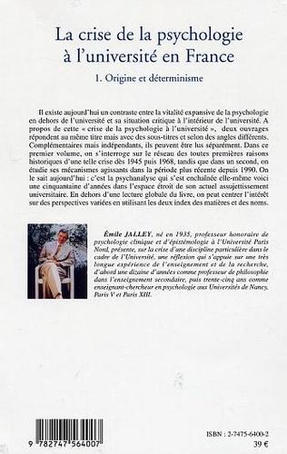 4eme La crise de la psychologie à l'université en France
