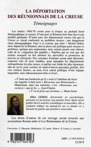 4eme La déportation des Réunionnais de la Creuse