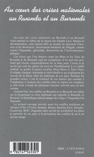 4eme Au cœur des crises nationales au Rwanda et au Burundi