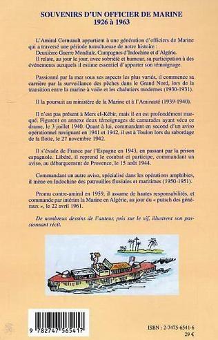 4eme Souvenirs d'un officier de marine de 1926 à 1963