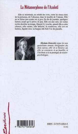 4eme La Métamorphose de l'Axolotl