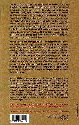 4eme L'héritage religieux et spirituel de l'identité européenne