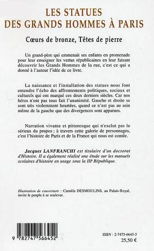 4eme Les statues des grands hommes à Paris