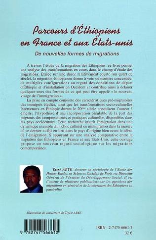 4eme Parcours d'Éthiopiens en France et aux États-Unis