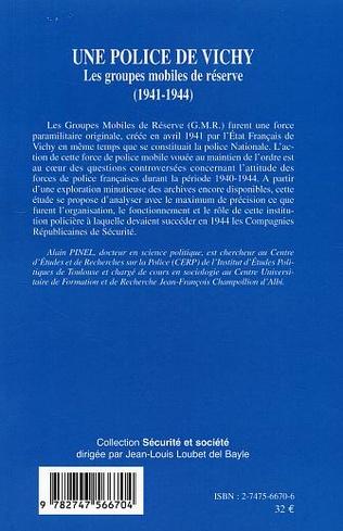 4eme Une police de Vichy