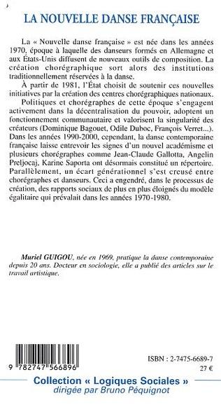 4eme La nouvelle danse française