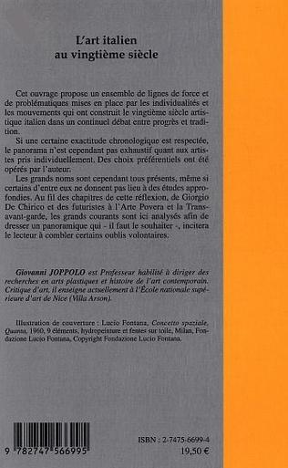 4eme L'art italien au vingtième siècle