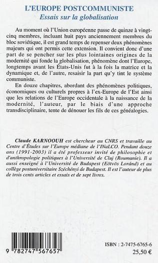 4eme L'Europe postcommuniste