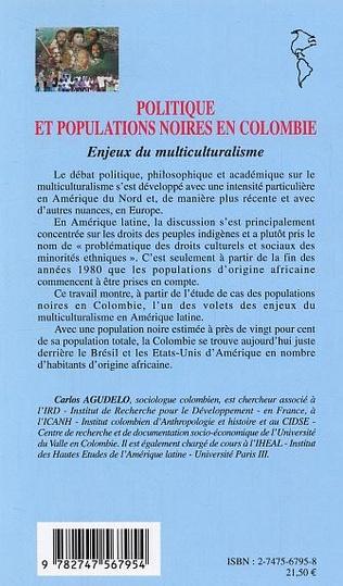 4eme Politique et populations noires en Colombie